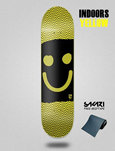 lordofbrands EMillion Metamorphosis Solar Active 8.25 Deck monopatin Skate Skateboard