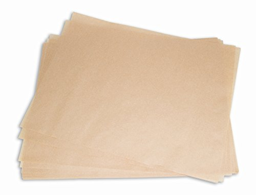 CucinaPrime Artisan Pan Liner Baking Sheets, Unbleached Brown, 12 x 16 Inches, 500 Pack by CucinaPrime