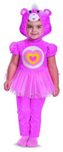 Disguise Costumes Care Bears Wonderheart Bear Infant Classic, Pink/White/Yellow, 12-18 Months -