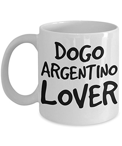 Dogo Argentino Lover Mug - White 11oz Ceramic Tea Coffee Cup - Perfect For Travel And Gifts 1
