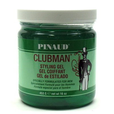 Clubman Style Gel Men'S 16oz Jar (2 Pack) -