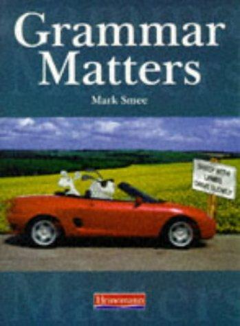 Grammar Matters Student Book
