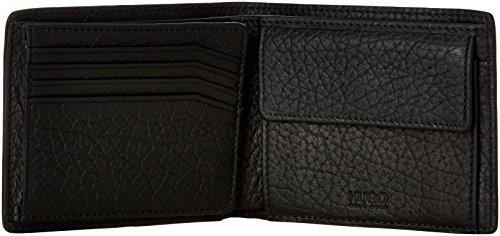 HUGO Geldbörse Victorian_Trifold für Herren, 50379679 Schwarz (Black)