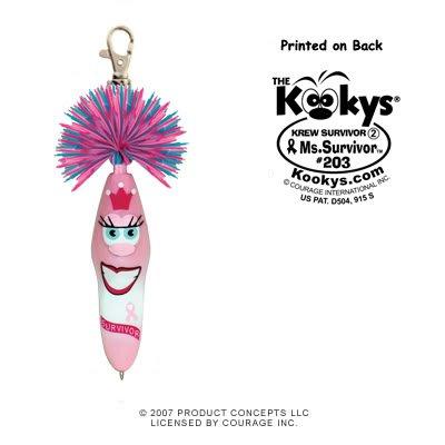 (Kooky Klicker Pen Keychain Krew Survivor 2 Ms.)