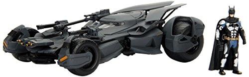 Batmobile Diecast Car (Jada Toys Metals Justice League Batmobile Toy Vehicle)