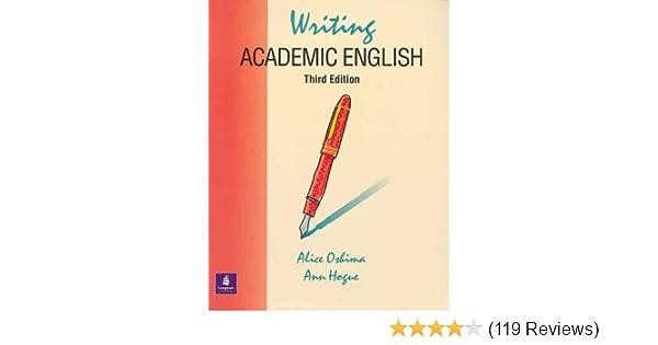 Amazoncom Writing Academic English Third Edition The Longman  Writing Academic English Third Edition The Longman Academic Writing  Series Rd Edition