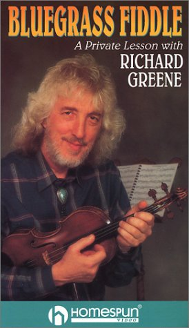 Bluegrass Fiddle-A Private Lesson with Richard Greene [VHS]