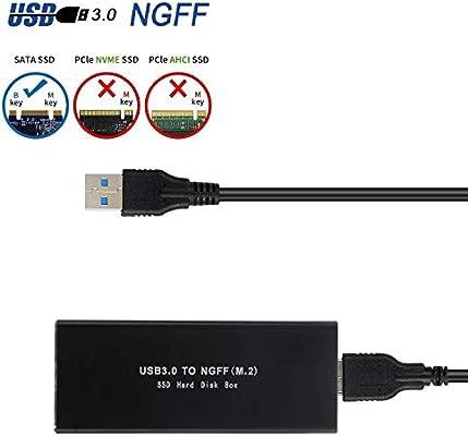 EasyULT Carcasa Externa para Discos Duros M.2 SATA a USB 3.0 ...