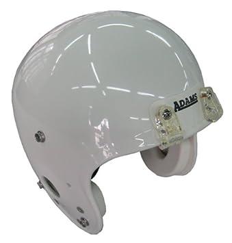 Adams Y3 - Casco de fútbol americano (talla L), color blanco