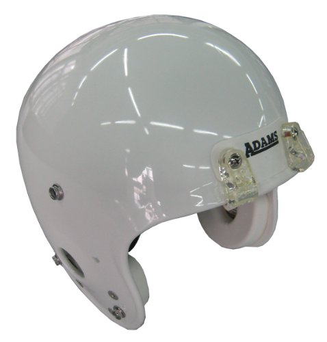 Casco de f/útbol americano color blanco Adams Y3 talla L