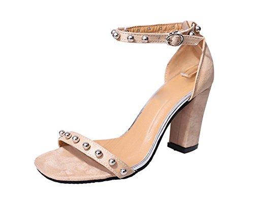Öffnen Zehen hochhackigen Sandalen Frauen Art und Weise der reizvollen Frauen Sandalen Schuhe Arbeitsplatz meters white