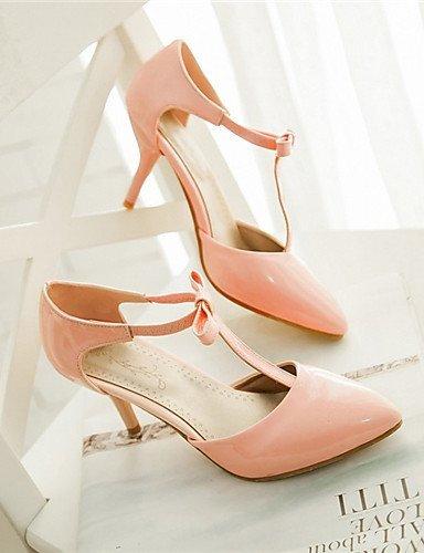 ShangYi Womens Shoes Chunky Heel Heels Clogs & Mules Office & Career/Casual Black/Pink/Purple/White Black