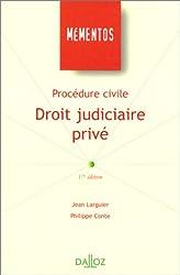 Procédure civile : droit judiciaire privé, 17e édition
