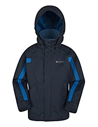 Mountain Warehouse Samson Waterproof Kids Rain Jacket For Everyday Wear