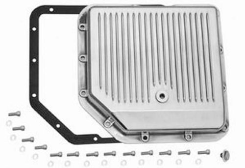 Racing Power Company R8491 Polished Aluminum Transmission Pan by Racing Power
