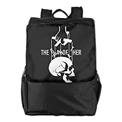 Outdoor Men And Women Travel Backpack Painting The Picture On The Backpack Rock The Grandfather Skull Dad's Gift\r\n Different ZHONGRANINC