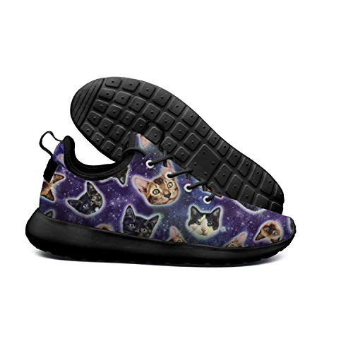 Lighweight Galaxy Kitty Sneakers Cats Mens Breathable Kitty Ultra Galaxy Cats DEEEWKF wX8q1P66