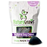 Nature Gnaws Cow Hooves for Dogs - Premium Natural