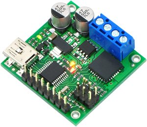 Jrk 21v3 USB Motor Controller with Feedback Pololu 605064