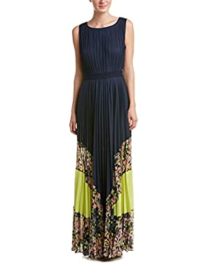 Bcbgmaxazria Pleated Maxi Dress