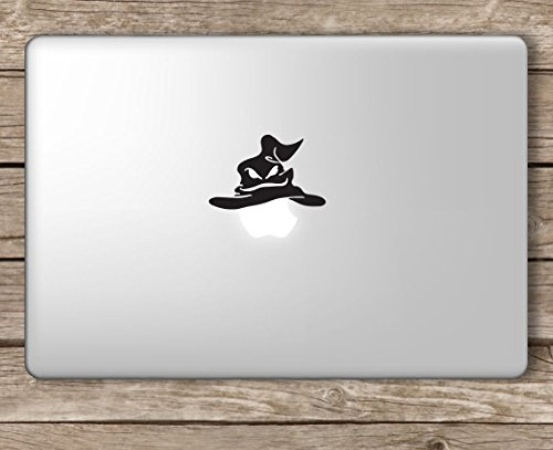 Sorting Hat Harry Potter - Apple MacBook Laptop Vinyl Sticker Decal, Die Cut Vinyl Decal for Windows, Cars, Trucks, Tool Boxes, laptops, MacBook - virtually Any Hard, Smooth Surface