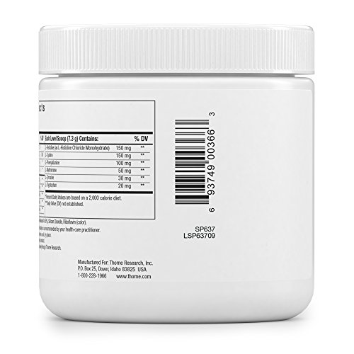 Thorne Research - Amino Complex - Amino Acid Powder for Sports Performance - NSF Certified for Sport - Lemon Flavor - 7.7 oz by Thorne Research (Image #7)