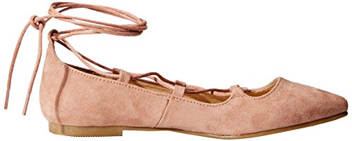 Chinese Summer Endless Suede Laundry Flat Rose Ballet Women's rBqrtvwR