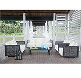 Royal Wicker 5 Piece Outdoor Living Room Set