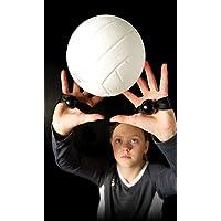 Tandem Sport Set Rite – Ayuda para Entrenamiento de Voleibol – enseña la colocación Adecuada de la Mano para Ajustar – 2 Correas