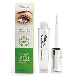 [Upgraded] Eyelash Growth Serum, Enhancer Great For Eyelash Growing, Thickening and Strengthening of Eyelashes, Best Eyelash Growth Serum for 2018