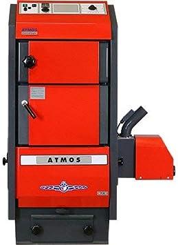 Atmos Pellet Caldera tipo P 15–45KW Pellet Calefacción Selección Atmos p.50+ A45Grabadora