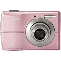 Olympus FE-26 12MP Digital Camera with 3x Optical Zoom and 2.7 inch LCD (Pink) At A Glance Review Image