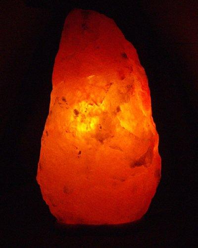 Himalita - 3X Large Himalayan Crystal Salt Lamp 32-38 Lb with wood base, cord & bulb by Himalita - The Authentic Himalayan Salt