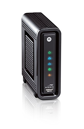 ARRIS SURFboard DOCSIS 3.0 Cable Modem (SB6121) Time Warner Cable,.
