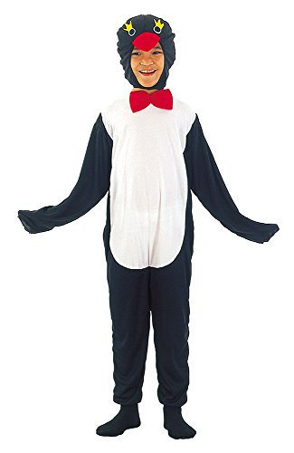 Bristol Novelty Penguin Budget Costume (L) Childs Age 7 - 9 Years