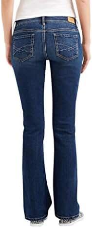 Aeropostale Women's Curvy Bootcut Core Dark Wash Jean