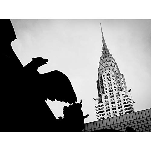 Pinera Chrysler Building Manhattan New York Large Wall Art Poster Print Thick Paper 18X24 Inch