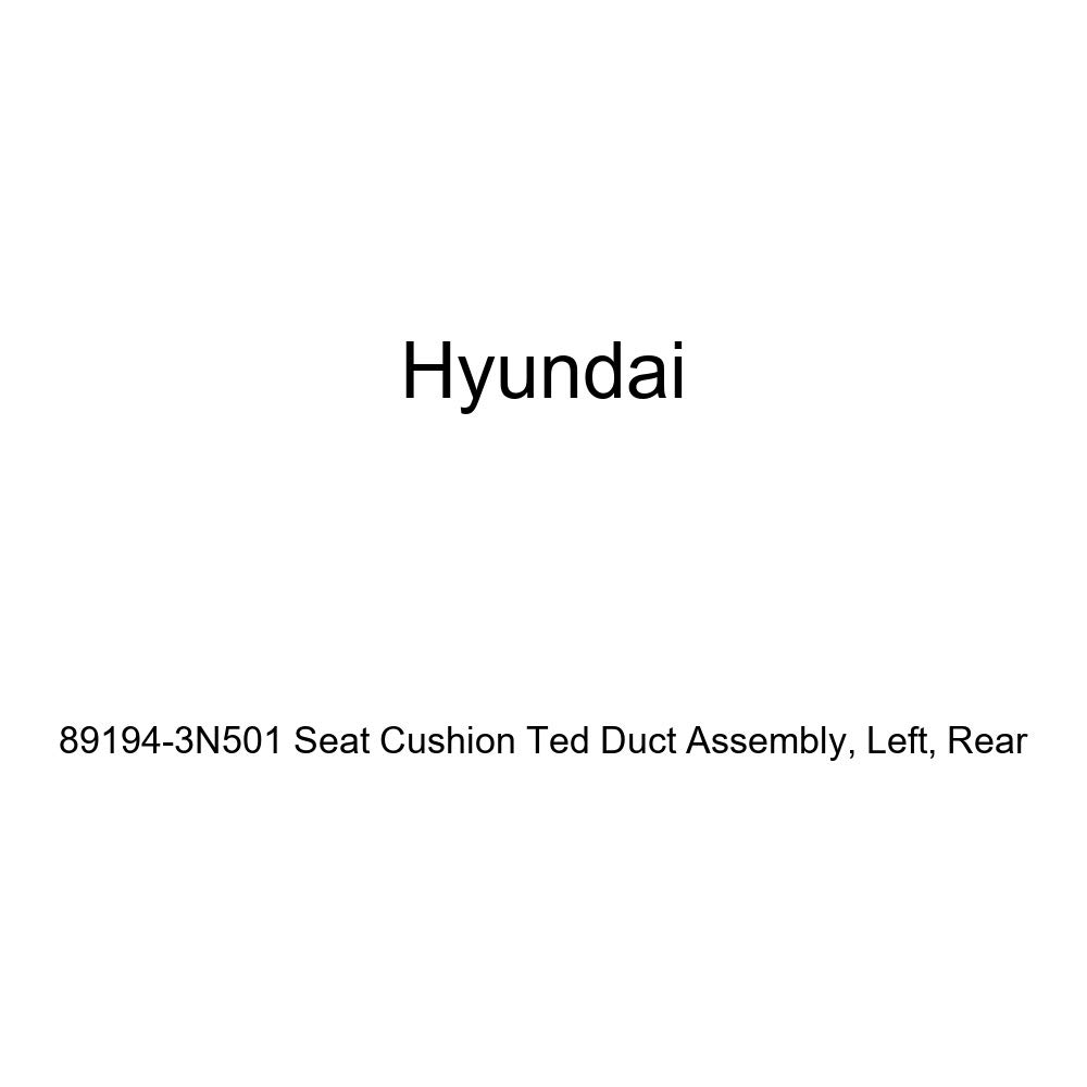 Rear Left Genuine Hyundai 89194-3N501 Seat Cushion Ted Duct Assembly