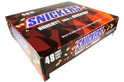 Snickers Candy Bars (Pack of 48)