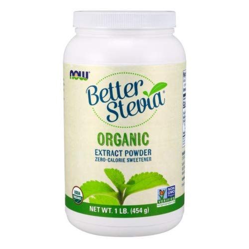Now Foods BetterStevia Extract Powder - 1 lb. 3 Pack