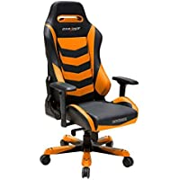 DXRacer OH/IS166/NO Black & Orange Iron Series Gaming Chair