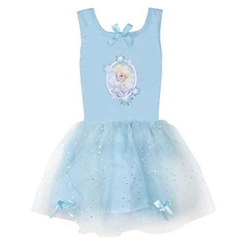 Disney Girl's Princess Play Dress (Ages 3-6 Years) Sleeveless Tulle Outfit