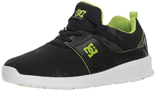 DC Boys' Heathrow TX SE Skate Shoe, CAMO, 1 M US Little Kid
