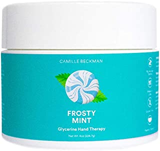 product image for Camille Beckman Glycerine Hand Therapy Cream, Frosty Mint, 8 Ounce