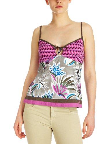 O'Neill Moa River - Camiseta para mujer Rosa (Pink Aop)
