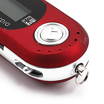 Digital Mini USB MP3 Music Player FM Radio Function with TF Card Slot LCD Screen Portable USB Flash Drive with Earphone