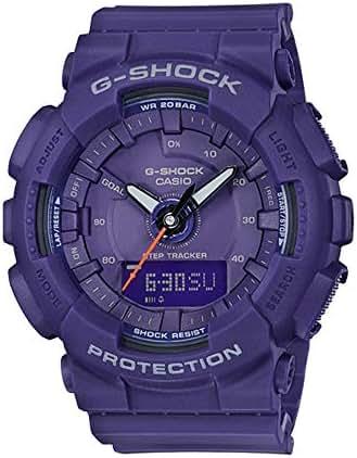 Casio G-Shock GMAS130VC-2A S-Series Step Tracker Purple Watch