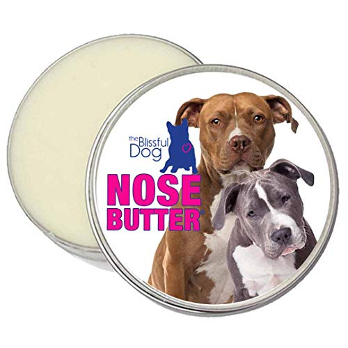 The Blissful Dog American Staffordshire Terrier Unscented Nose Butter, 4-Ounce