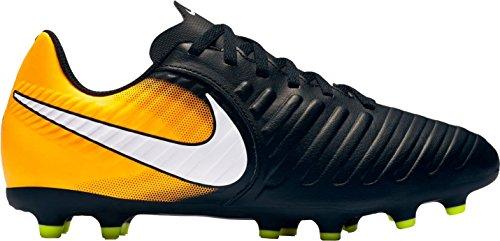 Men's 259429 LS Arancione Nike Shirt Top T Pxtfz