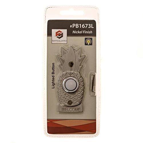 Brass Doorbell Wired Button Decorative Doorbell Button
